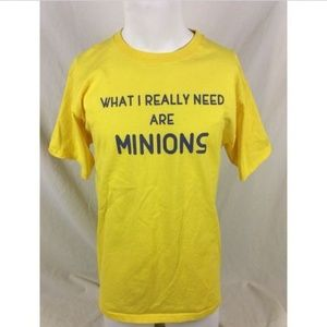 What I Really Need Are Minions T-Shirt Despicable